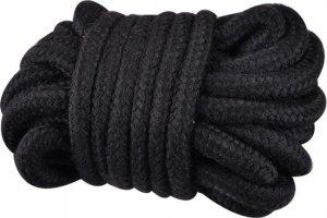 Kinky rope black soft bondage rope 5 meter