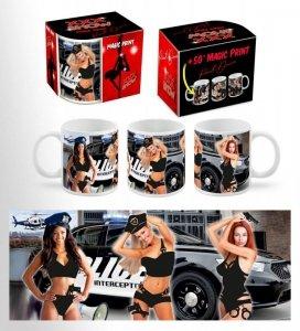 XXX SHOW - kubek Boss 300 ml - Policjantki