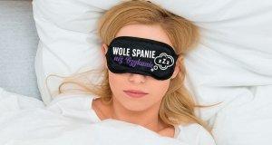 Maska-Opaska na oczy WOLĘ SPANIE NIŻ BZYKANIE