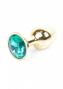 Plug-Jewellery Gold PLUG- Green