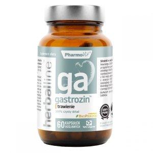 Herballine Gastrozin 60 kap trawienie, gazy