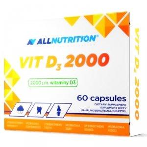 Allnutrition Witamina D3 2000 60 kapsułek