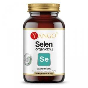 Selen organiczny 530 mg tarczyca 90kaps VEGE