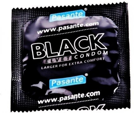 10X PASANTE BLACK VELVET - MOCNO NAWILŻONE