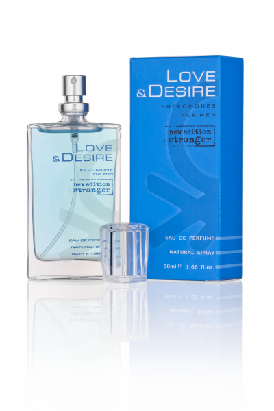 Feromony z Perfumami Love & Desire dla mężczynzn 50ml