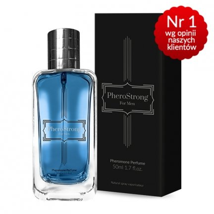 Pherostrong 10xPerfumy podniecające kobiety +feromony 50ml MĘSKIE