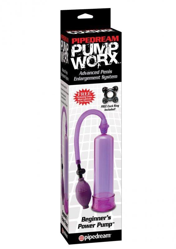 Pompka-PW BEGINNERS POWER PUMP PURPLE