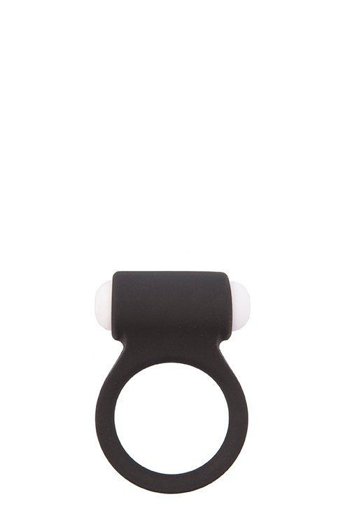 Pierścień-LIT-UP SILICONE STIMU RING 3 BLACK