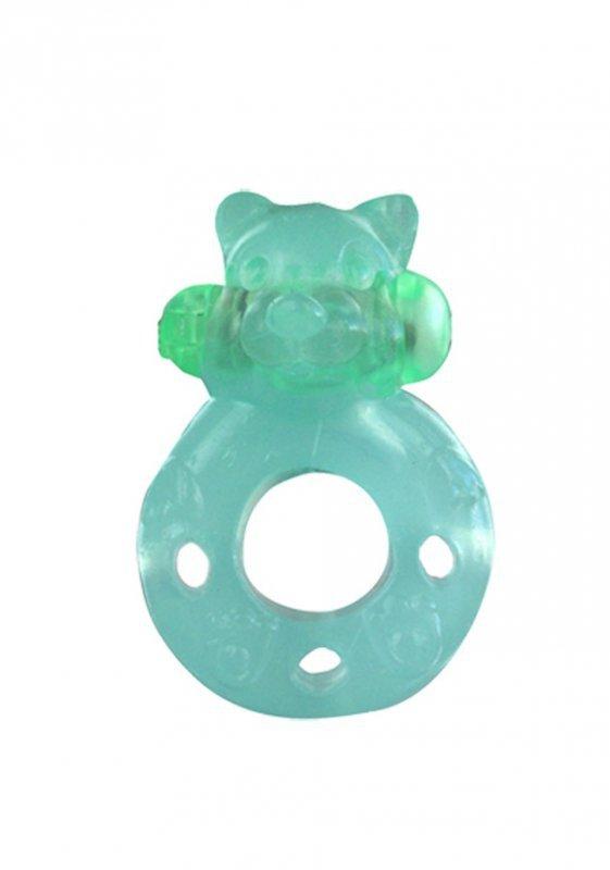 Pierścień-Wibrator - Ring. Bear. Func:1. Green.