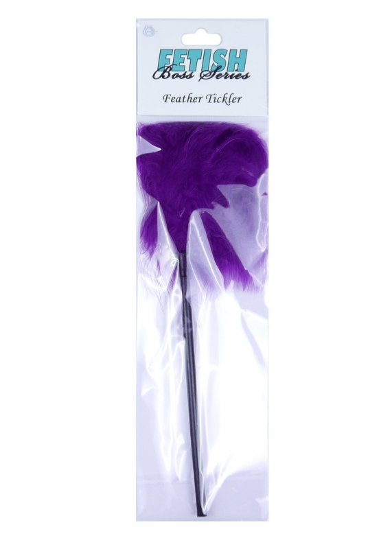 Feather Tickler Purple - Boss Series Fetish