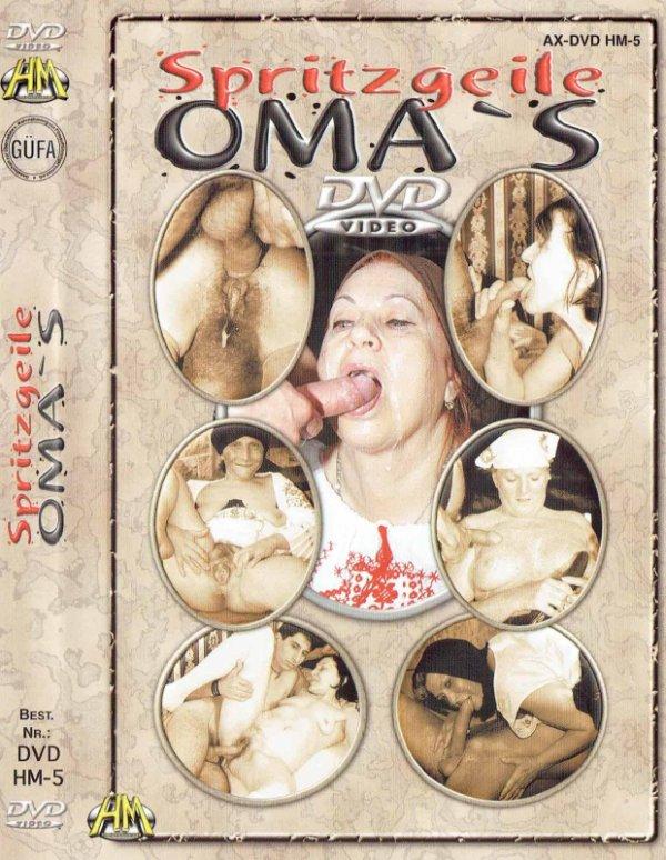 """DVD-SPRITZGEILE OMA""""S"""