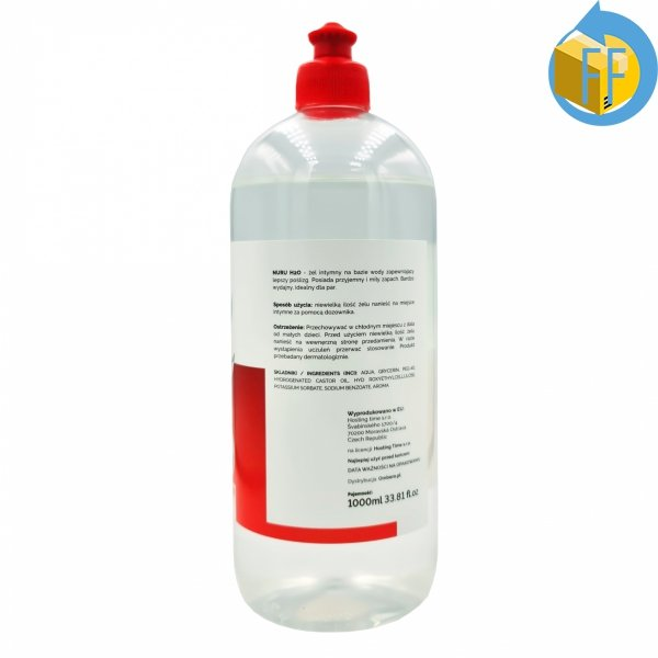 NURU H2O ŻEL MASAŻU NURU 1000ml RED BOTTLE LINE