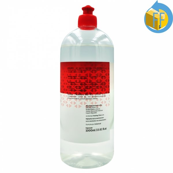 H2O ANAL ŻEL ANALNY WODNY 1000ml RED BOTTLE LINE
