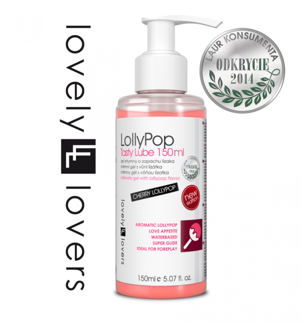 LOVELY LOVERS LollyPop Tasty Lube 150ml