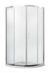 Kabina prysznicowa półokrągła Modern 185 80x80 cm transparentna