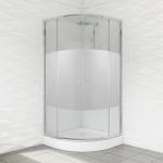 Kabina prysznicowa duso półokrągła 80 intimo