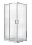 Kabina prysznicowa kwadratowa Modern 185 80x80 cm transparentna
