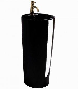 Umywalka ceramiczna wolnostojąca Blanka Black REA-U6635