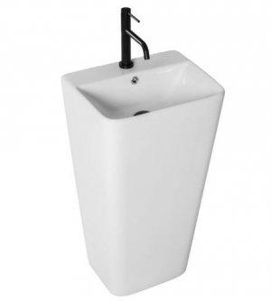 Umywalka ceramiczna wolnostojąca Aris 44x37,5 REA-U5637