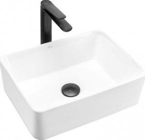 Umywalka ceramiczna nablatowa Anita mini 41x31 REA-U0952