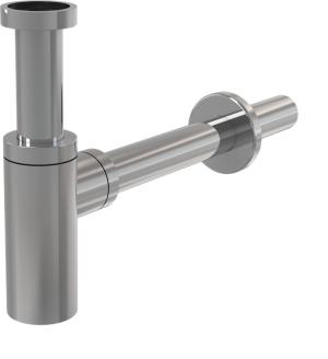 Półsyfon umywalkowy Ø32 DESIGN metalowy A400