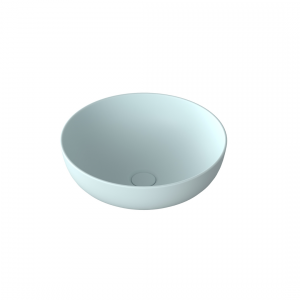 Umywalka ceramiczna nablatowa MOLIS ICE BLUE 38 cm