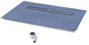 Schedpol Odpływ liniowy płyta spadkowa 80x100 cm ruszt STAMP