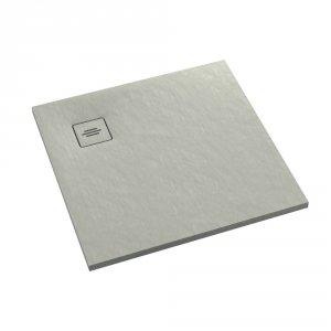 Brodzik kwadratowy kompozytowy  Schedline PROTOS Cement Stone 100x100