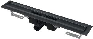 Odpływ liniowy podłogowy czarny APZ1BLACK 1050