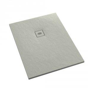 Brodzik prostokątny kompozytowy Schedline PROTOS Cement Stone 100x80