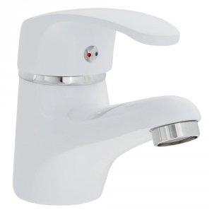 Bateria umywalkowa KAKADU biała  BKK 622D