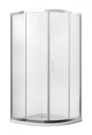 Kabina prysznicowa półokrągła Modern 185 90x90 cm transparent