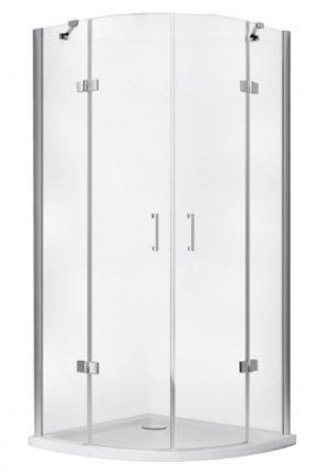 Kabina prysznicowa półokragła Viva 195 80x80 cm