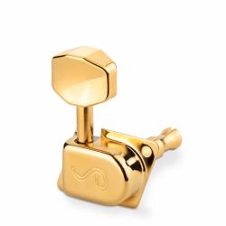 KLUCZE GITAROWE SCHALLER F-SERIA 70'S 6L GOLD
