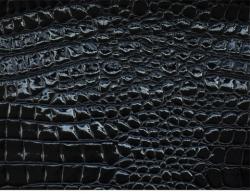 Tolex Black Alligator  70X100
