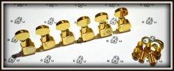 Klucze gitarowe J82 6L typ Schaller GOLD