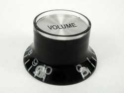 Gałka typu Gibson VOLUME  BLACK