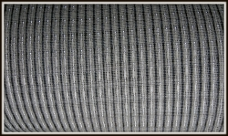 Gril lcloth Fender Black-White-Silver (90x75)