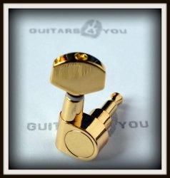 Klucz gitarowy J82 typ Schaller GOLD Mini 6L