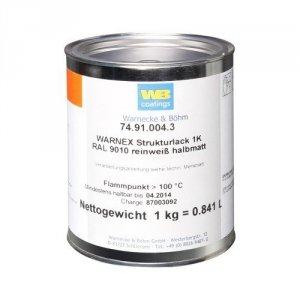 Warnex 0131 WHI farba strukturalna biała