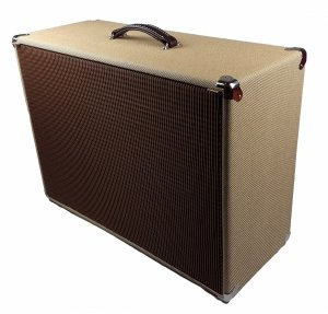 Obudowa Kolumny 2x12  SLIM TWEED CLOSED