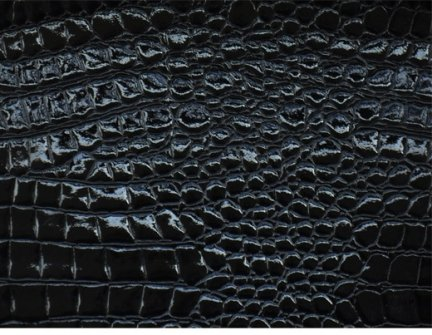 Tolex Black Alligator  70X100