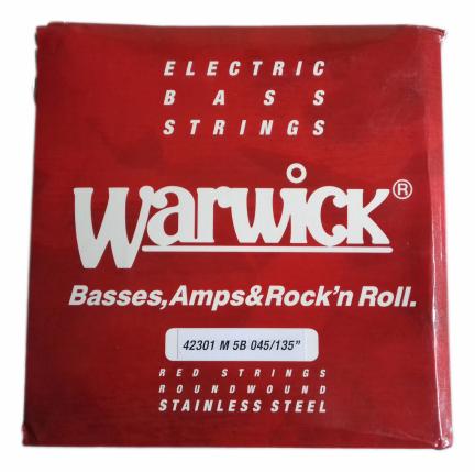 WARWICK 42301 M 5B struny do basu 5 str. 045/135.