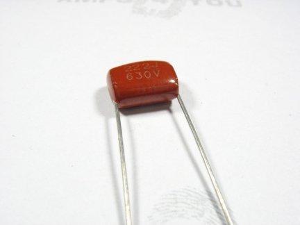 Kondensator foliowy metalizowany  2,2nF 630V 3szt.