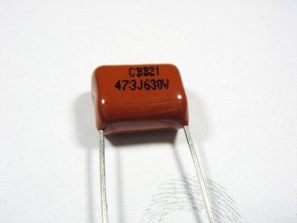 Kondensator foliowy metalizowany 47nF 630V 3szt.