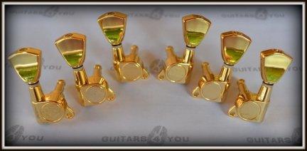 Klucze gitarowe J04 GD typ Keystone GOLD 3+3