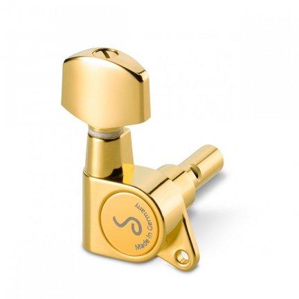 KLUCZE GITAROWE SCHALLER M6 135 6L GOLD