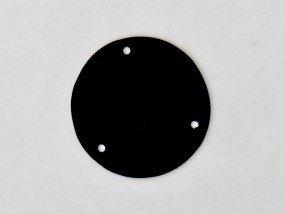 Płytka maskująca przełącznik Typ GIBSON Black