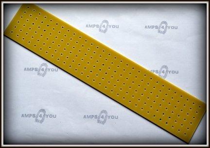 Płytka typu Turret Board blank 300x60x3 ŻÓŁTA