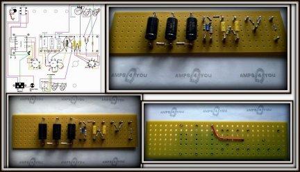 Płytka TB do wzmacniacza  Fender Champ 5F1
